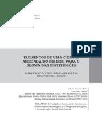 ROSSI Juliano Scherner 2015 Elementos de Uma Ciência Aplicada Do Direito Para o Design Das Instituições