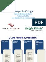 Proyecto Conga - Estudio de Impacto Social - http://elaguaprimero.blogspot.com