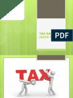 Tax Remedies Under the Nirc