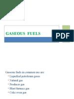 Lecture 5 - Gaseous Fuels