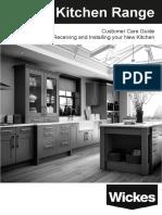 Wickes Kitchen Self Fit Customer Care Guide