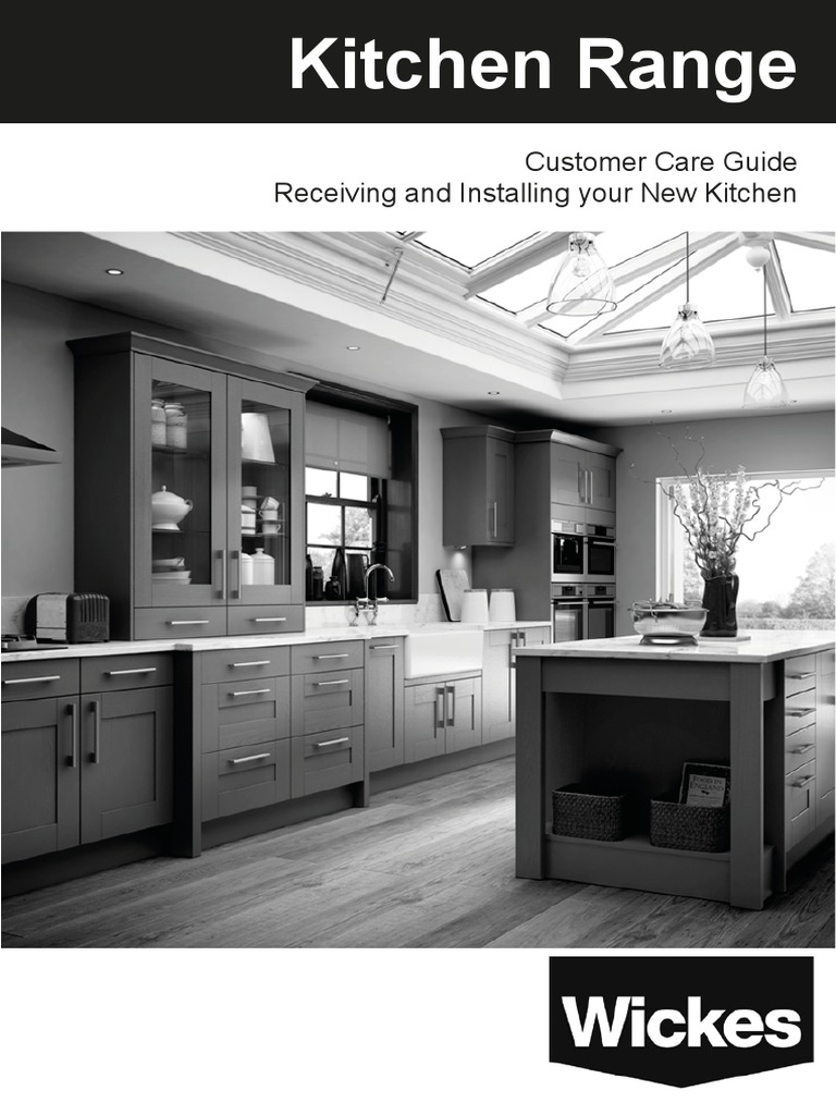 Wickes Kitchen Self Fit Customer Care Guide   Countertop   Refrigerator