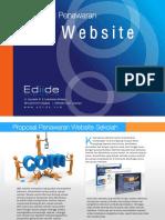Proposal website Edide