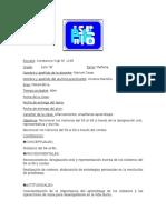 Planificación 3 de Numeración 60  1er grado