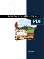 Retail Audit of Peak Freans Farmhouse Cookies
