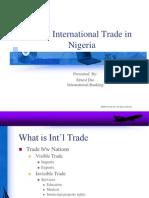 International Trade in Nigeria