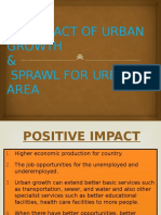The Impact of Urban Growth