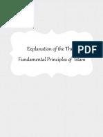 Explanation of the Three Fundamental Principles of Islam - By Shaykh Ahmad Jibril