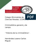 25 Autores de La Criminalistica.