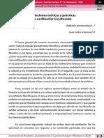 Scannone-mediaciones teóricas y prácticas de un filosofar inculturado