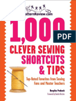 1 000 Clever Sewing Shortcuts and Tips Top-Rated F