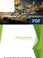 Acute Abdomen (3)