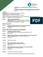 Biology of Aging Program-05.9.14