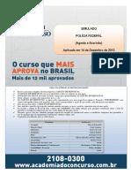 218853704 SIMULADO Policia Federal Academia Do Concurso
