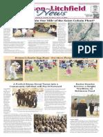 Hudson~Litchfield News 4-1-2016
