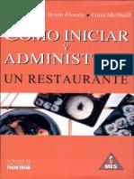 128325059 Como Iniciar y Administrar Un Restaurante