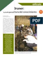 Bruner. La Arquitectura Del Conocimiento