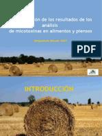 Interpretacion analisis micotoxicologicos