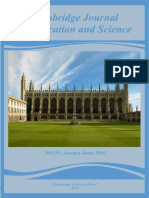 Cambridge Journal of Education and Science. 2016. No1(15). Volume II
