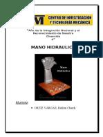 Informe de Hidraulica Proyecto