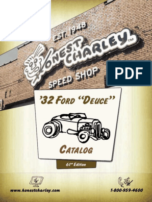 32 Ford Catalog | Door | Suspension (Vehicle)