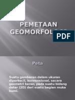 Pemetaan Geomorfologi