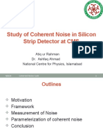 Coherent Noise Task Update