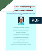 La Estafa Del Colesterol. Denuncia Del Cirujano Del Corazon Dr Lundell