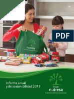 Informe Anual y de Sostenibilidad 2012