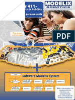 Apresentação Kit Laboratório de Robótica Escolar 411 PLUS Modelix