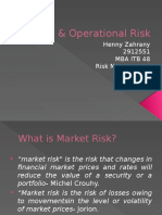 Paper Risk Management market and operational risk