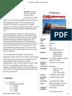 CVS Pharmacy - Wikipedia, The Free Encyclopedia