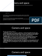 camera and space  1