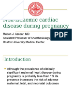 Non-Ischemic Cardiac Disease Pregnancy