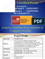 Classified Portal, Prajapati Sunil N