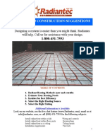 Design and Construction Manual 2014 Radiant Open Direct Too
