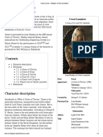 Cersei Lannister - Wikipedia, The Free Encyclopedia