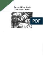 Pine Street Capital Case Study
