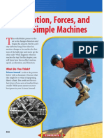 Motion, Forces and Simple Machines