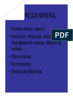 Nut Mineral