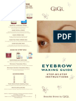 Eyebrow Waxing Guide
