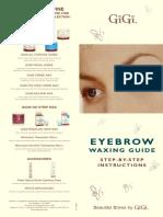 Eyebrow Waxing Guide