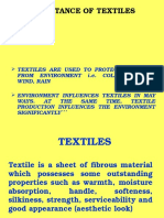 Importance of Textiles 131019005115 Phpapp02