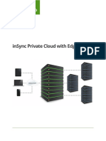 Druva InSync Private Cloud