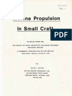 Marine Propulsion for Small Crafts