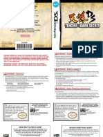 Tenchu - Dark Secret - ML1 Manual - NDS
