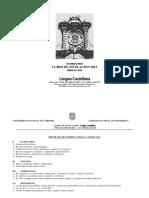 Guia de Estudio Lengua Castellana Ingreso 2014