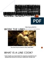 line cooking