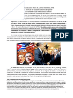 Los caballos de Troya del capital financiero en America Latina