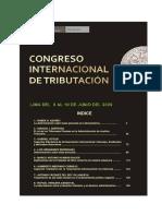 Derecho Tributario Congreso
